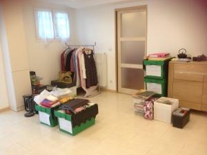 salon avant le déménagement
