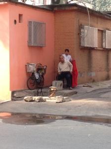 Coiffeur de rue