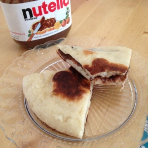 Galettes Nutella