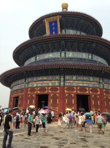 Temple soleil ombrelles