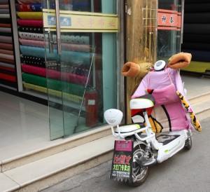 S-Scooter habillé
