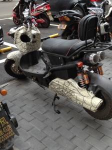 S-Scooter spiderman