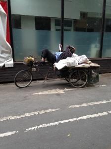 V-sieste en triporteur