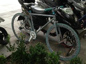 V-vélo panthère