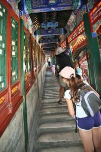 Escalier pentu
