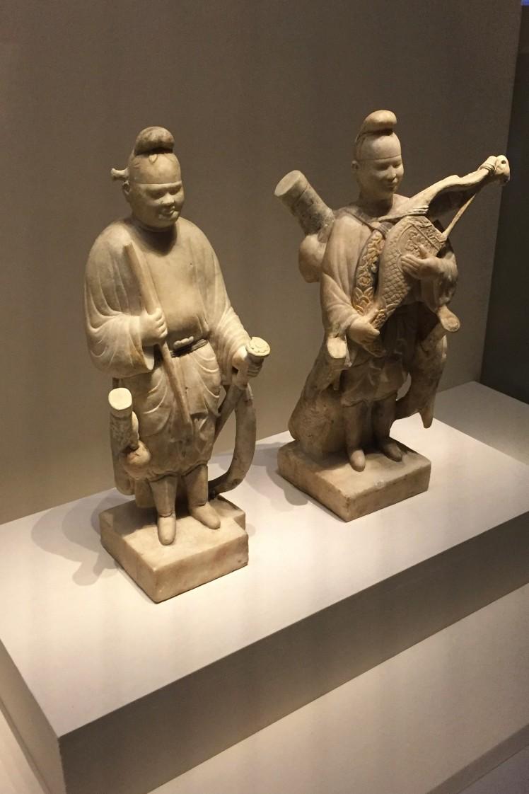 10-Guerriers Tang dynastie 740 ap JC