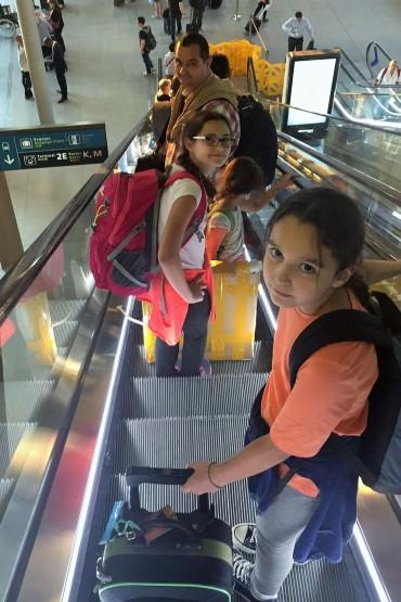 7-Arrivée 1 - escalator
