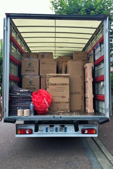03-Arrivée camion