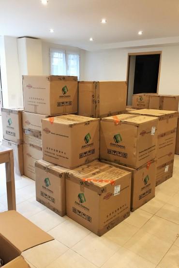 04-Arrivée cartons